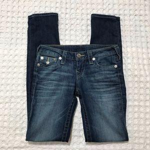 True Religion Jeans size 25 Sierra Logo